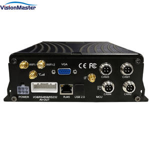 HD 1080P 4 CH Hard Disk Mobile DVR H.264 Digital Video Recorder for Vehicles Ships Planes