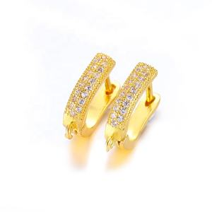wholesale high quality hypoallergenic new designs women earring ear clip earring set