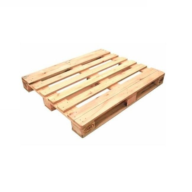 Hot selling mini hard solid acacia/ pine wood pallet 4-ways wooden pallet furniture at best price for Japan market