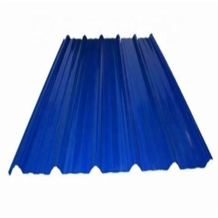 Color coated Heat resistant galvanized roofing sheet metal siding corrugated prepainted roof plate price from China