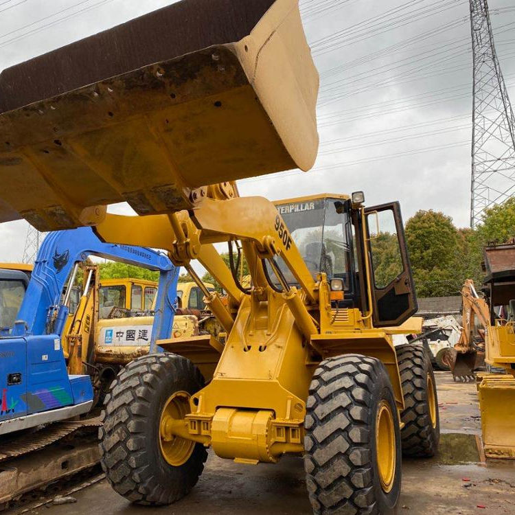 Used Wheel Loaders Caterpillar 950F for sale, best after-sale service in shanghai