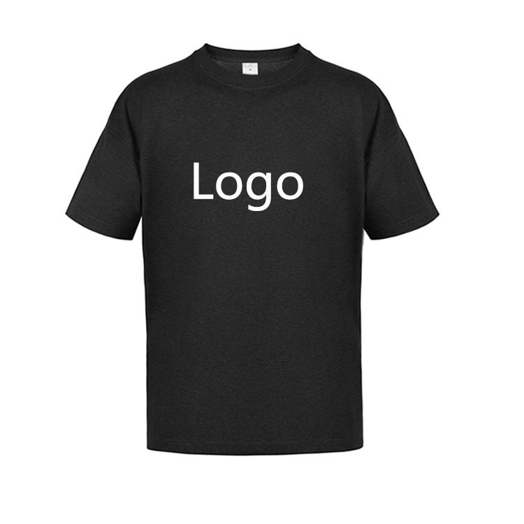 Wholesale US Size T Shirt Men 100% Cotton Custom Logo Printing Blank Plain Men's T-Shirt