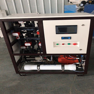Onsite Seawater Electrolysis Sodium Hypochlorite Generation Uf Membrane Water Treatment System For Waste