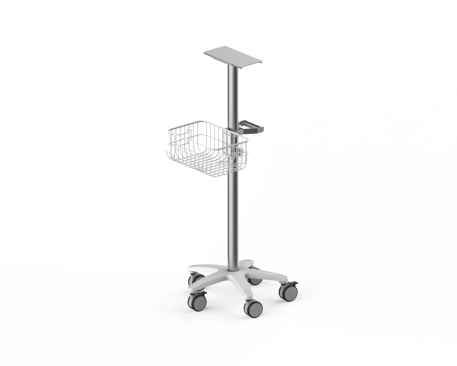 Mobile Medizinische Trolley Medical Trolley Laptop Patienten Monitor Trolley Warenkorb