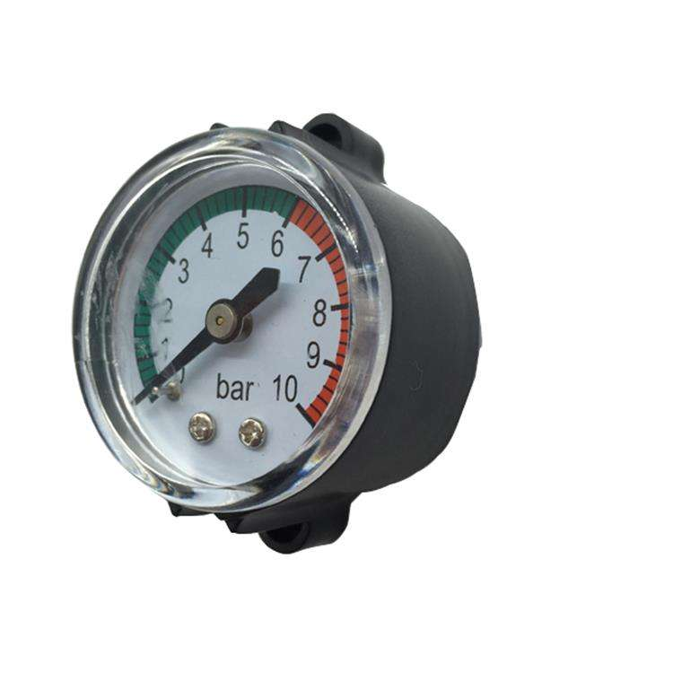 Differential Pressure Monitor Manometer Axial Pressure Gauge Ametek Pressure Gauge