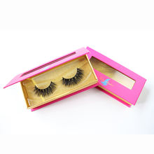 Free Shipping Lash Vendor Cruelty Free 3d mink Eyelashes 25 mm Lashes With Case
