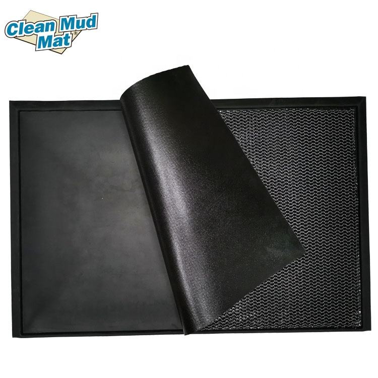 Rubber Antimicrobial Sanitizing Footbath Doormats Shoe Foot Door Floor Mats for disinfection