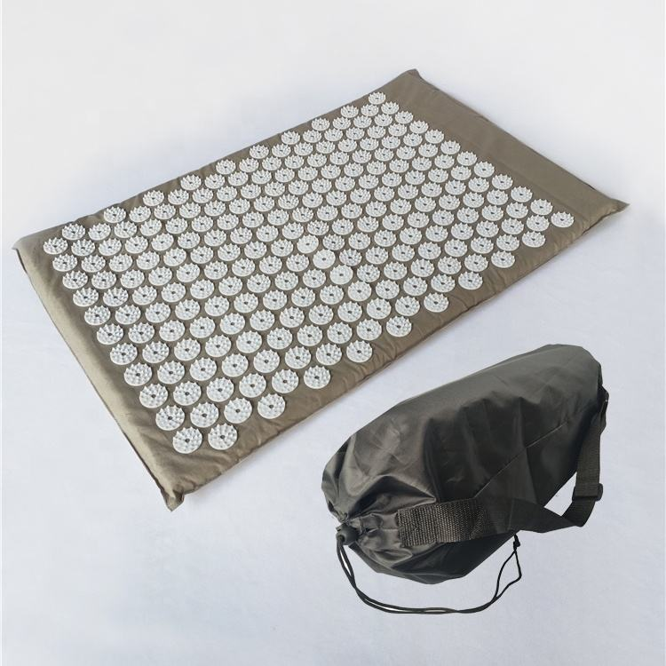 amazon hot selling multiple colors health care pad magnetic point therapy acupressure massage mat