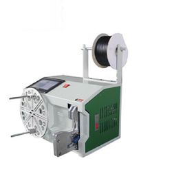 Automatic wire coil winding machine