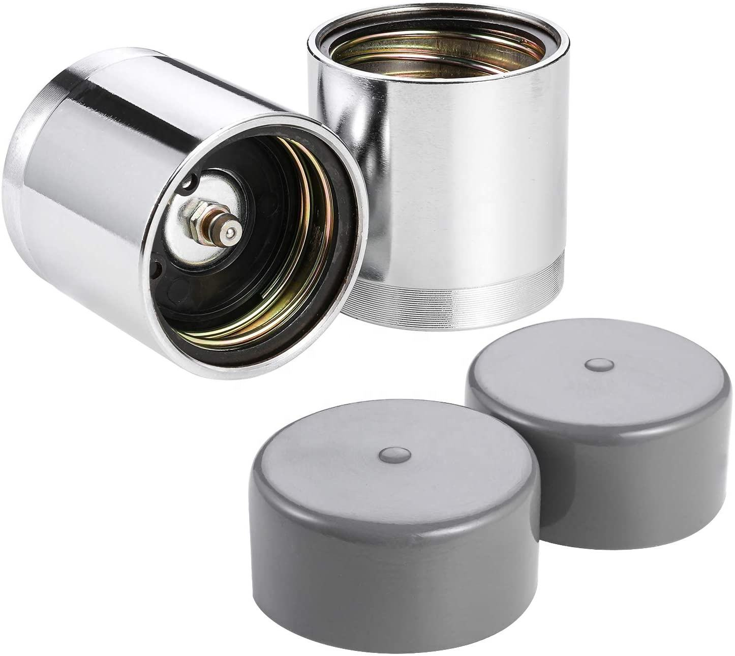 Wheel Bearing Buddy 1.98 Inch Bearing Protectors with Protective Bras for Trailer Boat