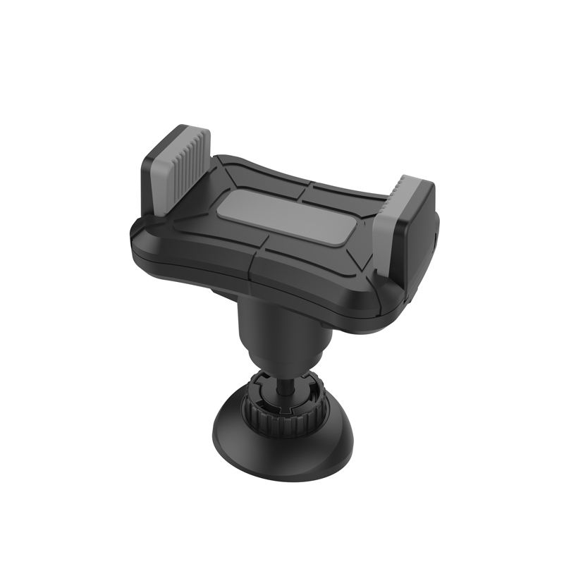 Push to Hold and Release One Hand Operating Plastic Car Mobile Phone Holder