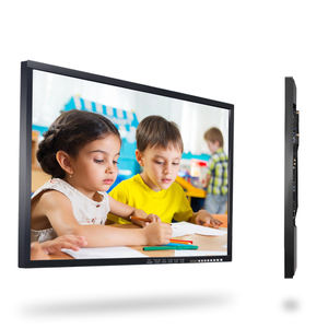 43 Inch Glas Touch Screen Board Wandmontage Lcd Monitor
