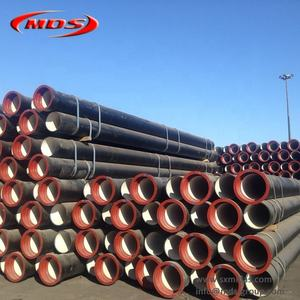 iso 2531 ductile iron pipe k9 100mm