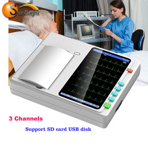 Chinese supplier cheap price electrocardiogram Portable USB ECG machine