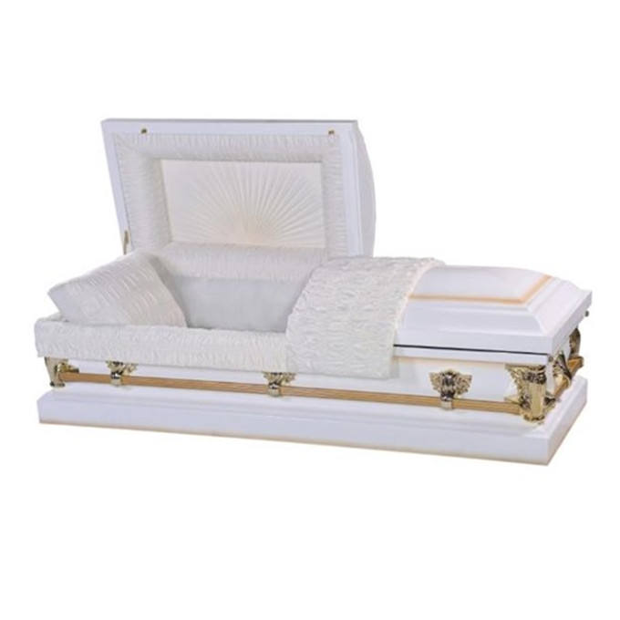 Funeral coffin casket lowering device handles accessories