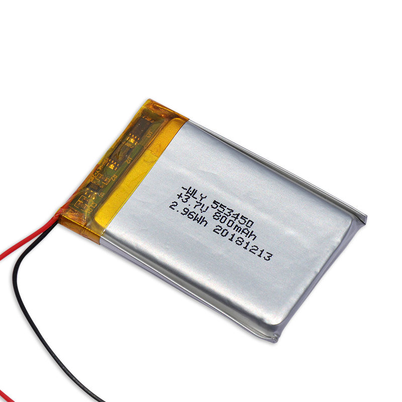 Batteries Lithium ion High Capacity 3.7v 800mah Battery Cell 553450 for Bluetooth Keyboard