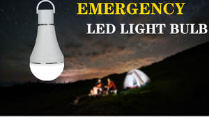 Isi Ulang LED Bohlam Emergency Lampu