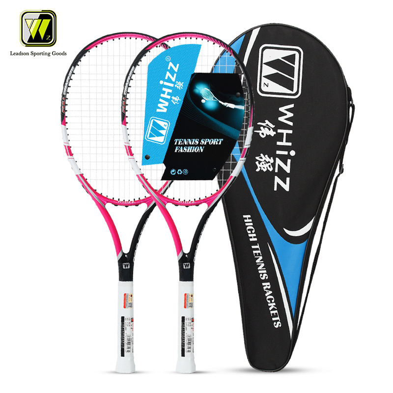 WHIZZ GT700 pink full carbon fiber custom design tennis racquets