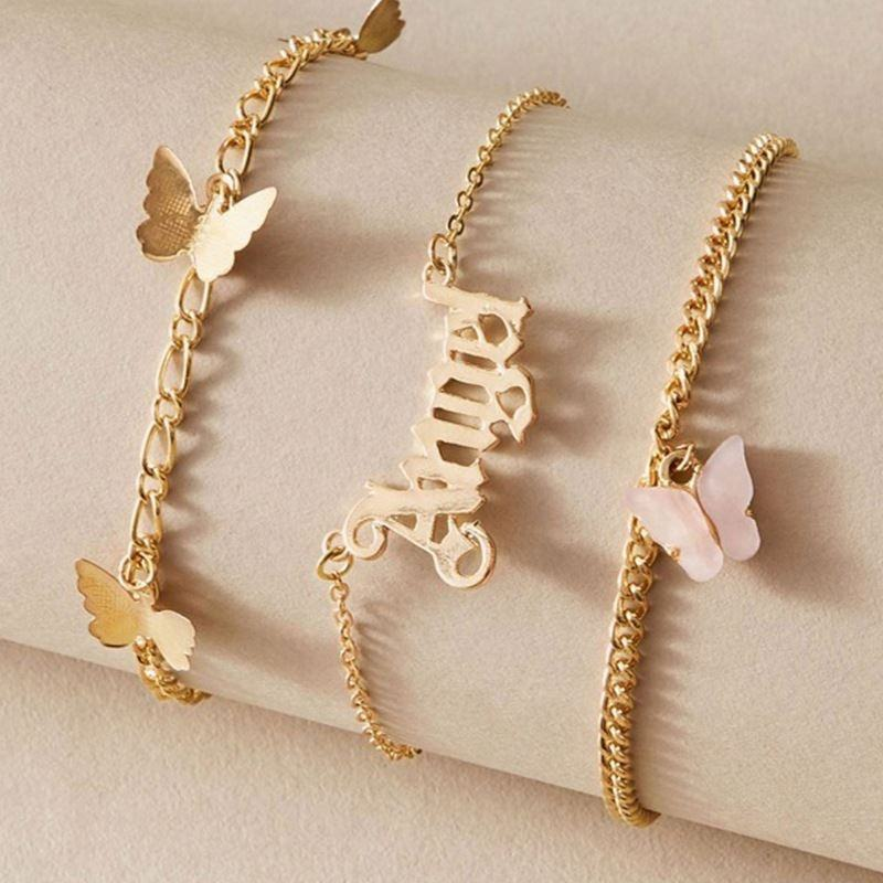 Fashion ankle chain foot jewelry anklet for Wholesale copper alloy jewelry