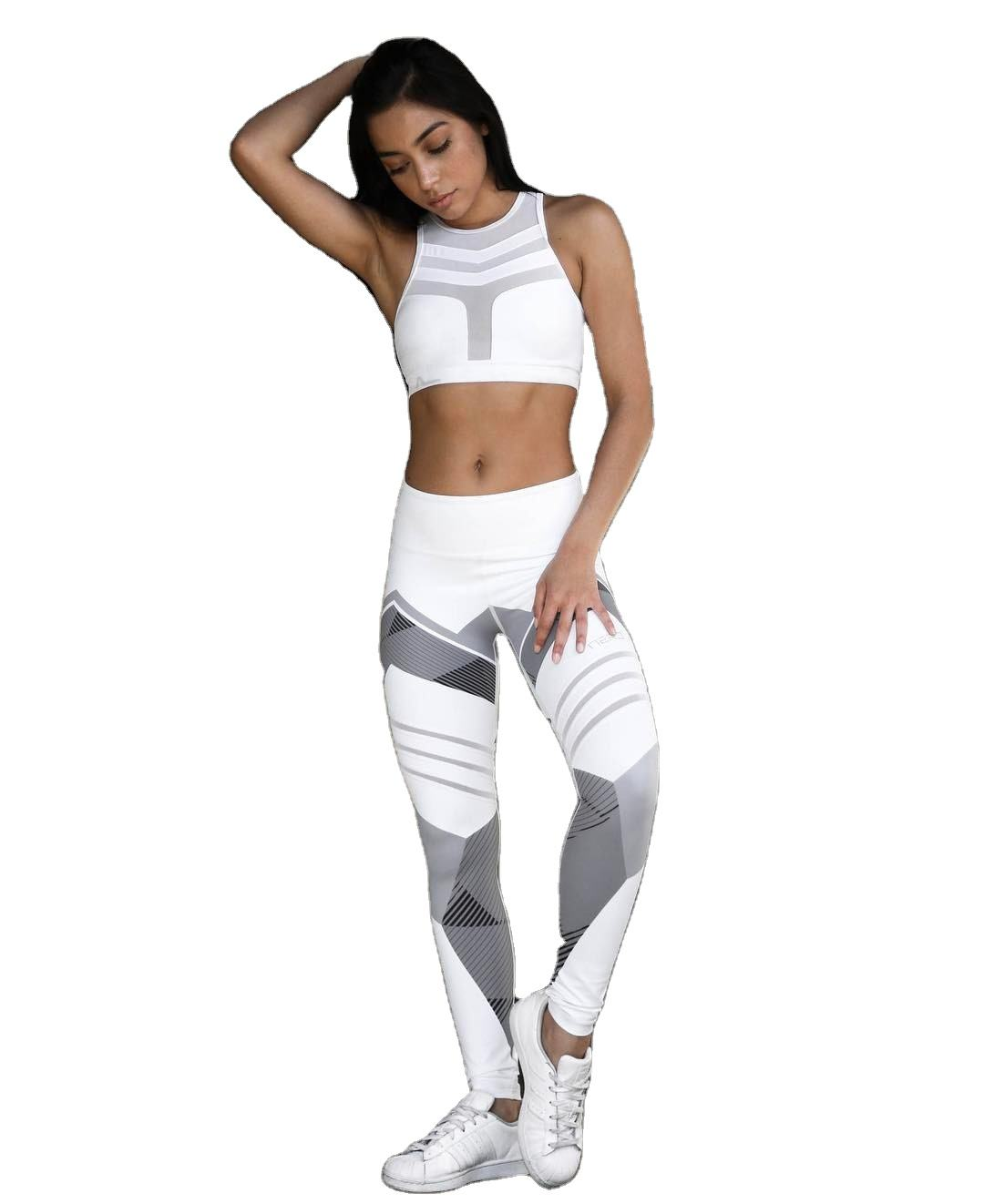 Custom Mode Fitness Gym Ademend Warm Workout Fitness Vrouw Hoge Taille Compressie Strakke <span class=keywords><strong>Leggings</strong></span> <span class=keywords><strong>Xl</strong></span>