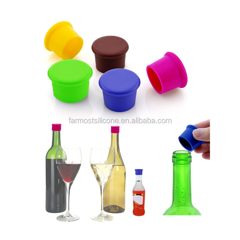 Reusable Silicone Bottle Caps Beer Cover Coke Soda Cola Lid Wine Saver Bottle Stopper