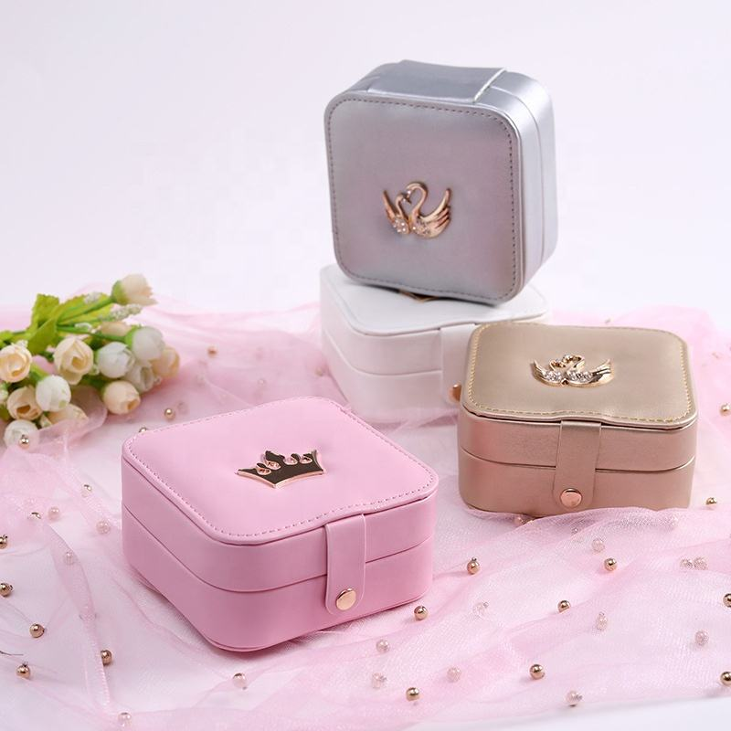 Personalized Design Musical Crystal Ring Storage Jewelry Box