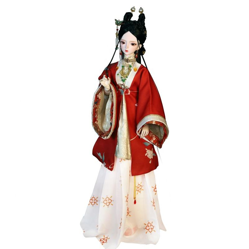 Oriental Charm 60cm BJD Dolls For Chinese Spring Gift Toys Simulation doll bjd