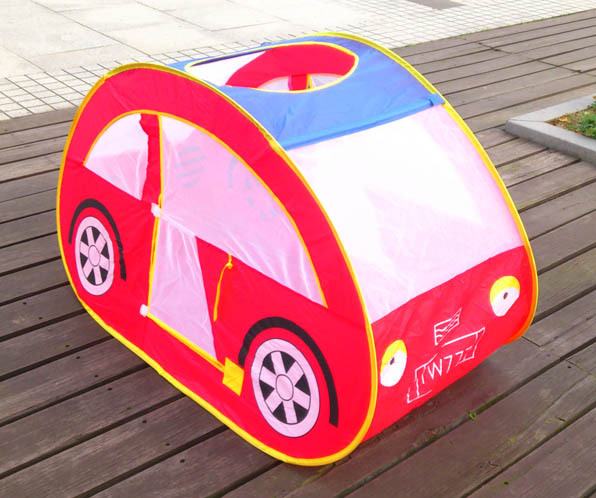 kids foldable car type playhouse tent