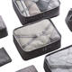 New Fashion Waterproof Cloth Packing Cubes 7 pcs Travel Luggage Organizer Bag Set
