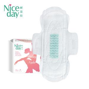Niceday Winged Shape Anion Sanitary Napkins Portable Sanitary Pads Day Use Comfortable Sanitary Towel 10 Pcs/Bag