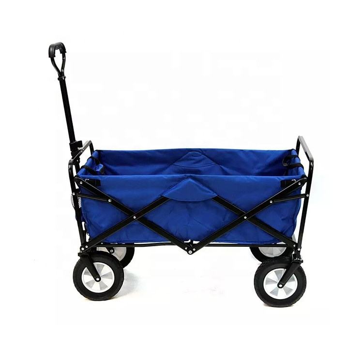 Camping trolley foldable beach wagon carts