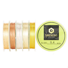 TOP Quality Silver Plated Copper Soft Wire Materials For Handmade Accessories