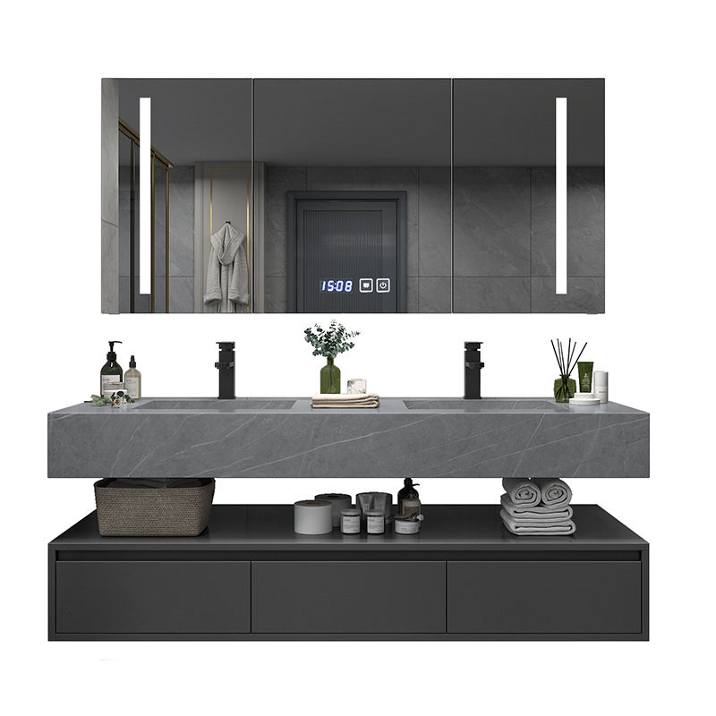 QIERAO European Style Factory Direct Bathroom Vanities for Sale GBL-EU006