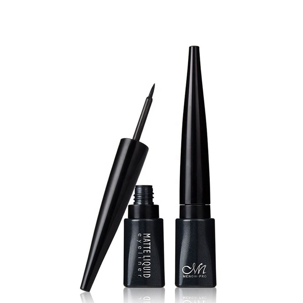 Iso [ Cosmetic ] Waterproof Liquid Eyeliner Cosmetic Eye Makeup Hard Head Matte Light Anti-Smudge Waterproof Liquid Eyeliner