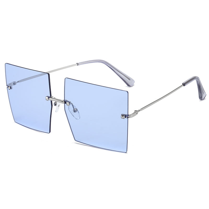 Superhot Eyewear A0410 Fashion Women Tinted Shades 2020 Designer Rimless Square Sunglasses