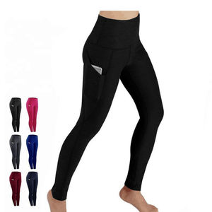 Custom Logo Quick Dry Sports Gym Leggings Women Yoga Leggins Pants
