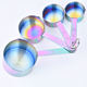 Hot selling Stainless steel Measuring Cups and Measuring Spoons 8 Piece set