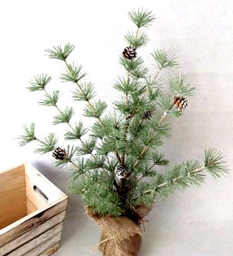 5X Mini Cepillo De Botella De Sisal Árbol De Navidad Santa Nieve Helada aldea Putz casa por
