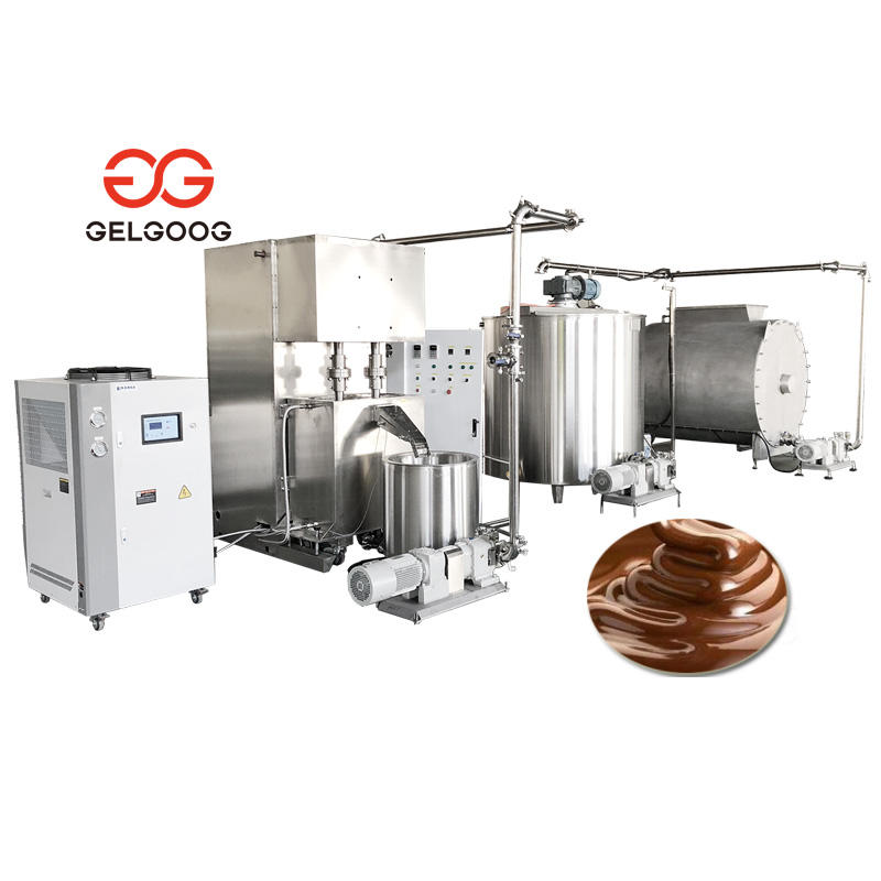Automatic Chocolate Paste Mill Grinder Chocolate Ball Milling Machine