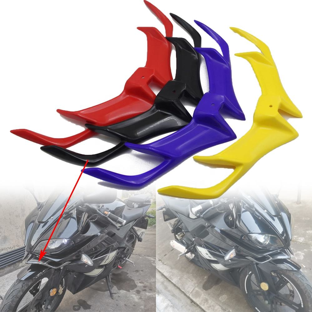 REALZION Motorcycle Accessories Front Fairing ABS Plastic Cover Protection Guards For YAMAHA YZF R15 V3 2017-2019