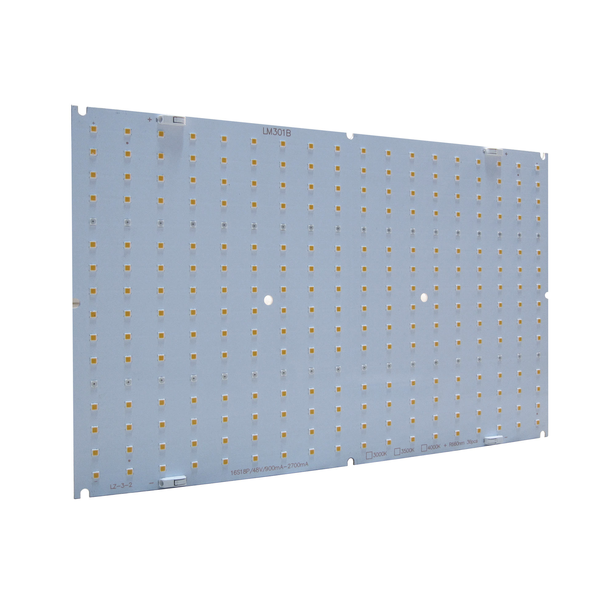 120W QB288 Volledige Spectrum Quantum Led Boards Pcb Module Met LM301B LM281B + Samsung Led Chips 3000K 660nm voor Grow Light