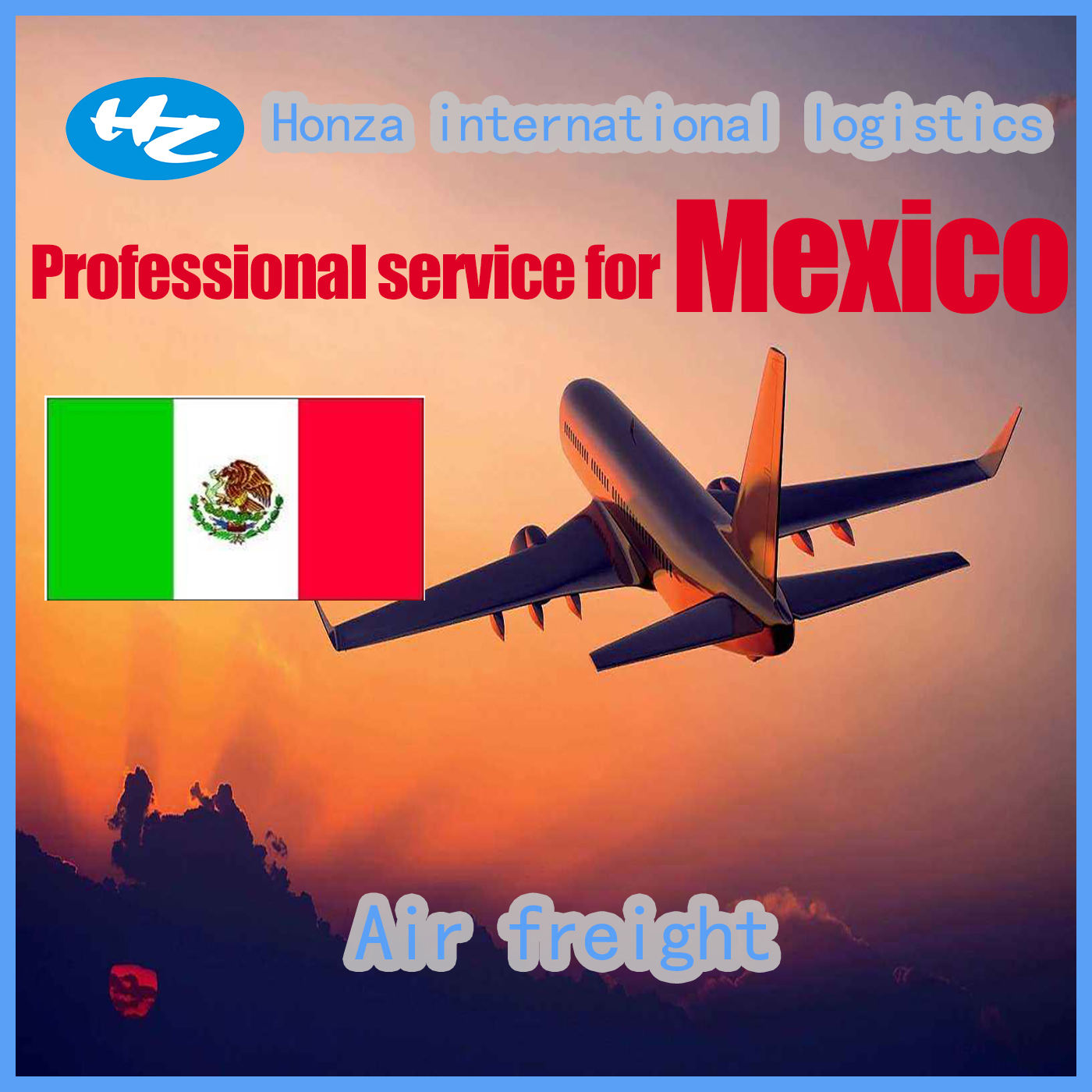 professional DDP air/sea freight service from China to Mexico