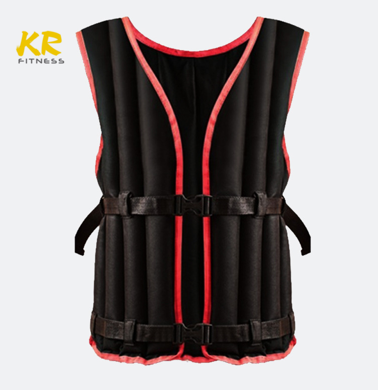 Chinese wholesale cheap men health 10kg weight vest sandfilled weighted vest