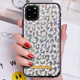 Frame Phone Iphone Color Shell Leather Case Luxury Bling Diamond Frame Glitter Back Phone Case Cover For IPhone 11 Pro Max