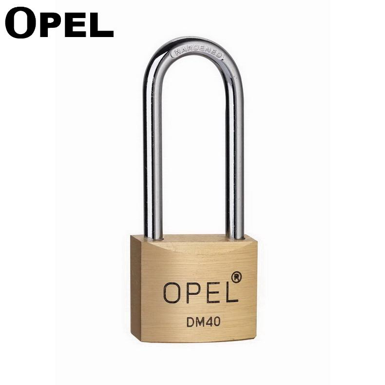 40mm Top Security Short Shackle Heavy Duty Arc Shape Solid Brass Copper Padlock With Standard Lock Gate Key