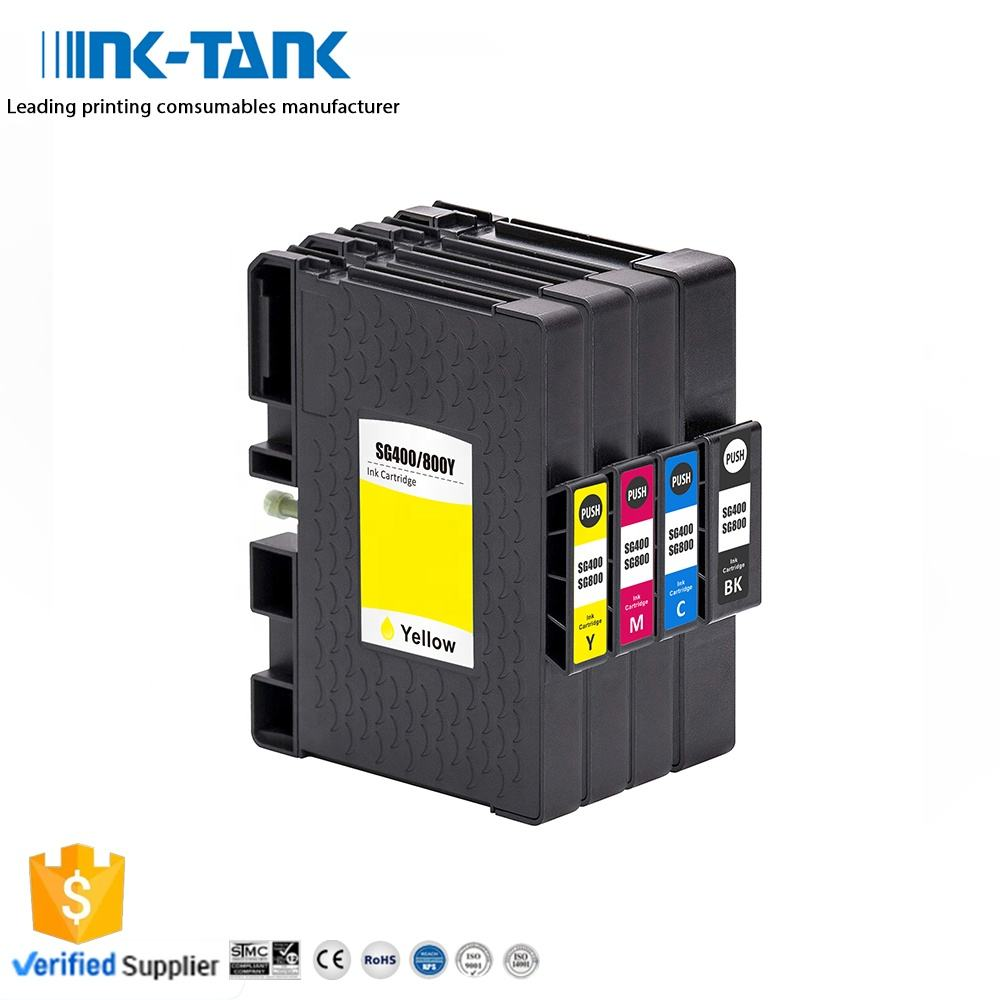 INK-TANK SG400 SG800 Premium Color Compatible Sublimation Ink Cartridge for Sawgrass
