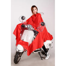Adult PVC electric scooter raincoat/poncho/motorcycle rain poncho