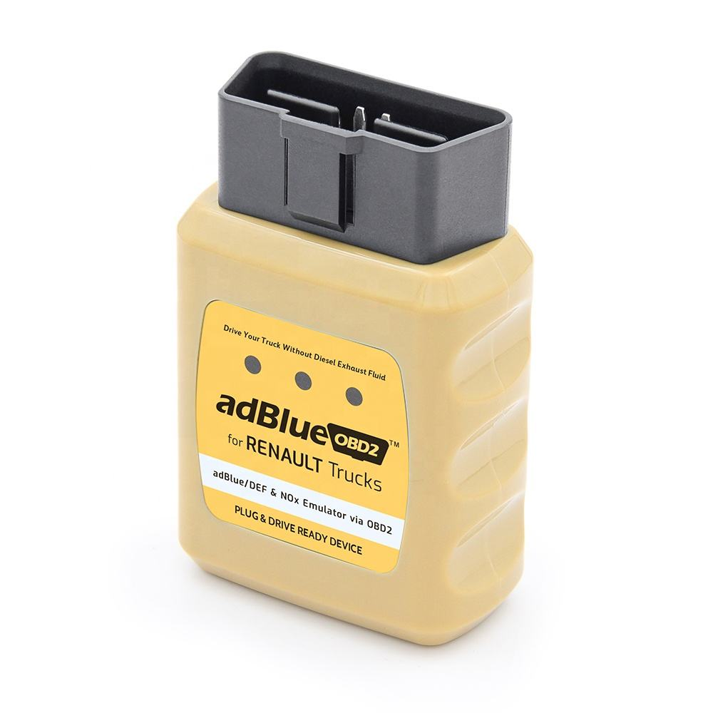 NOx emissions-reducing Adblue Emulator for Renault Truck via obd2 with EURO 4/5 & damaged adBlue SCR system
