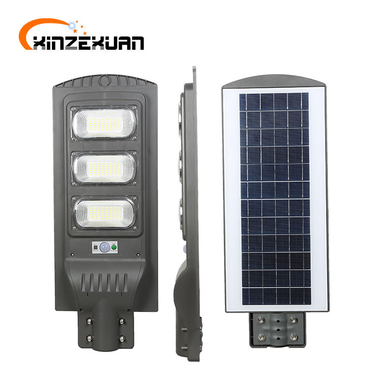 China shenzhen smart control waterproof ip65 30w 60w 90w integrated all in one led solar streetlight