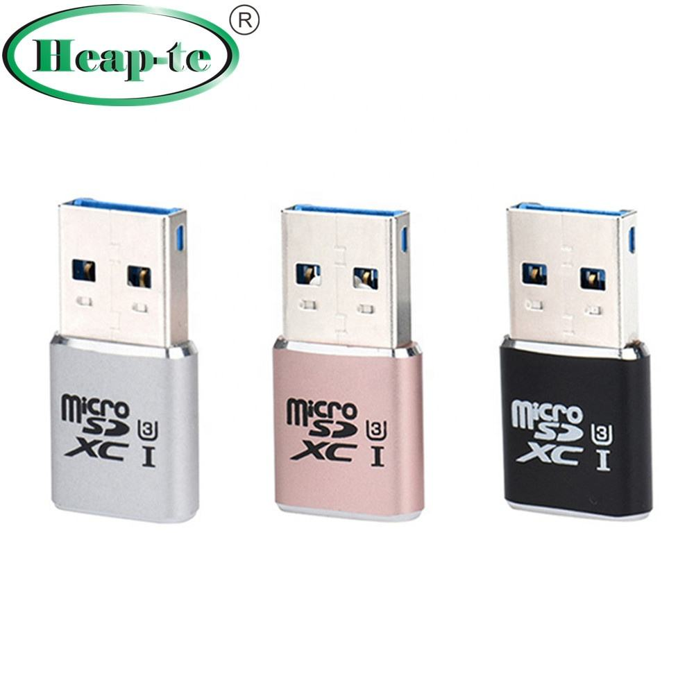 Card Reader Adapter Super Speed 5Gbps USB 3.0 SDXC Mi SD TF T-Flash Card Reader Adapter
